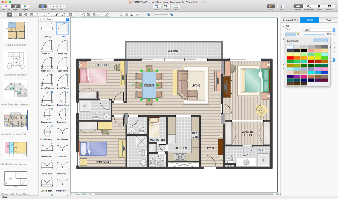 Room Planning Software *