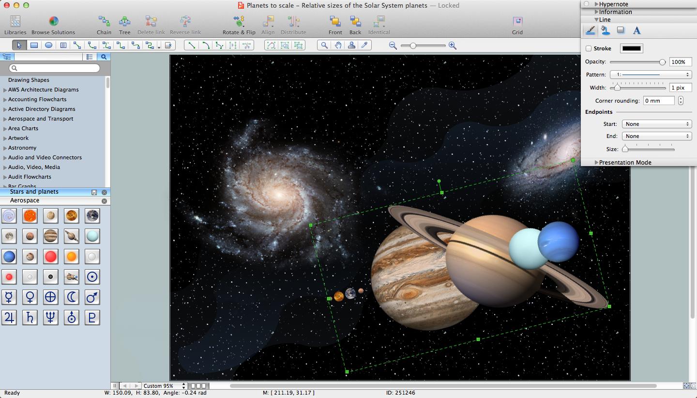 Star atlas:pro astronomy software guide star catalog (gsc).