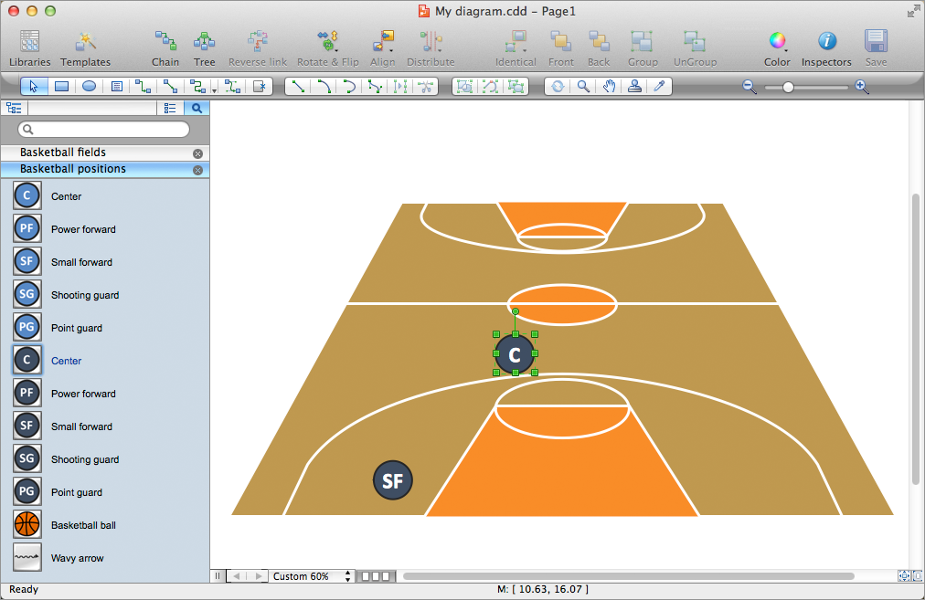 Basketball Plays Software for mac