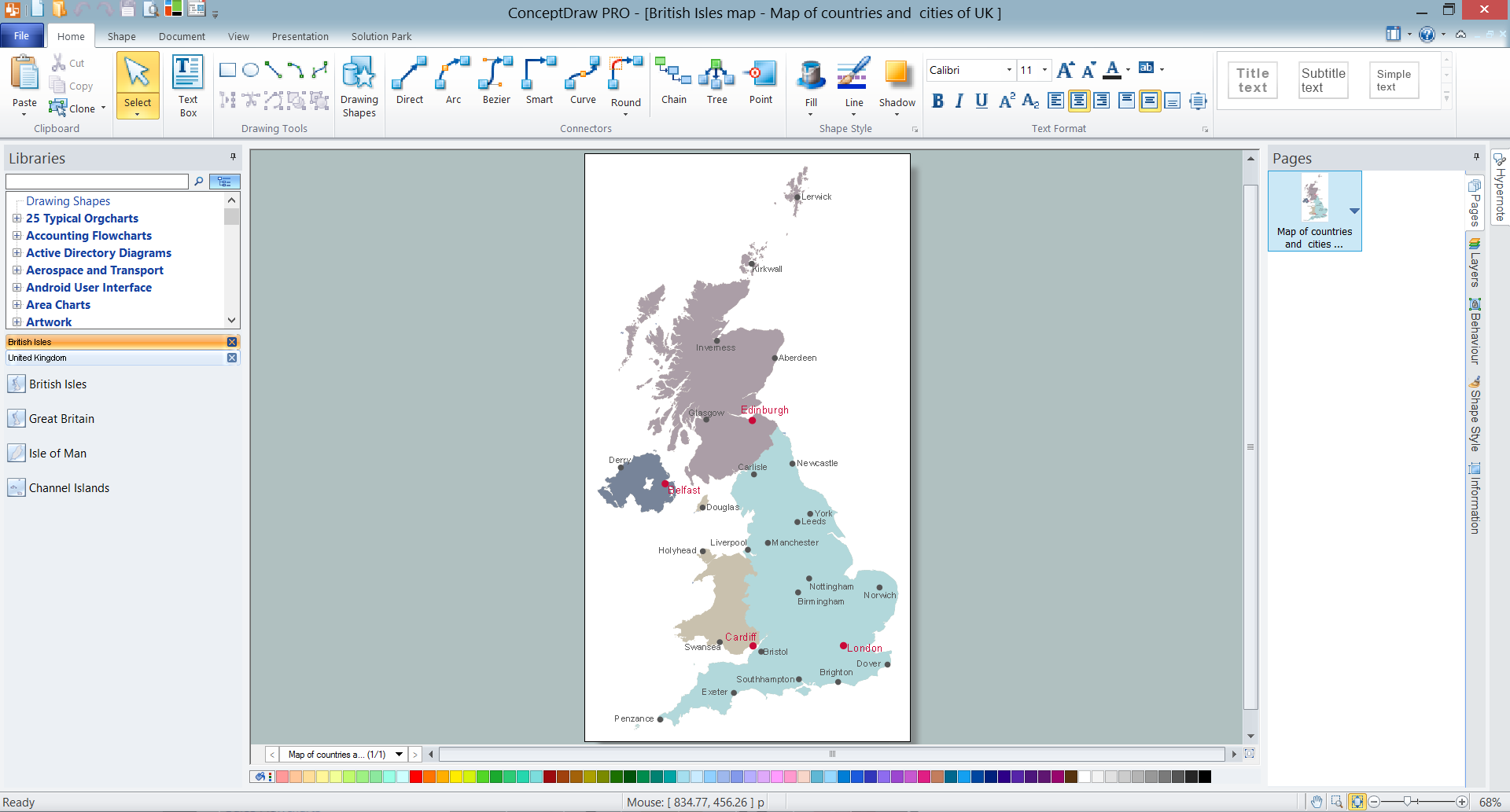 Geo map europe united kingdom map of uk map of uk Easy drawing software
