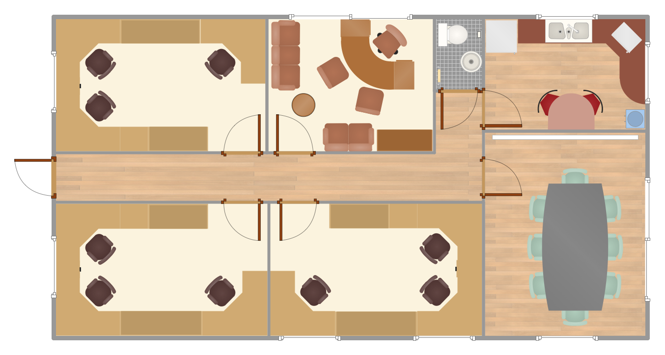Office  Floor Plans *