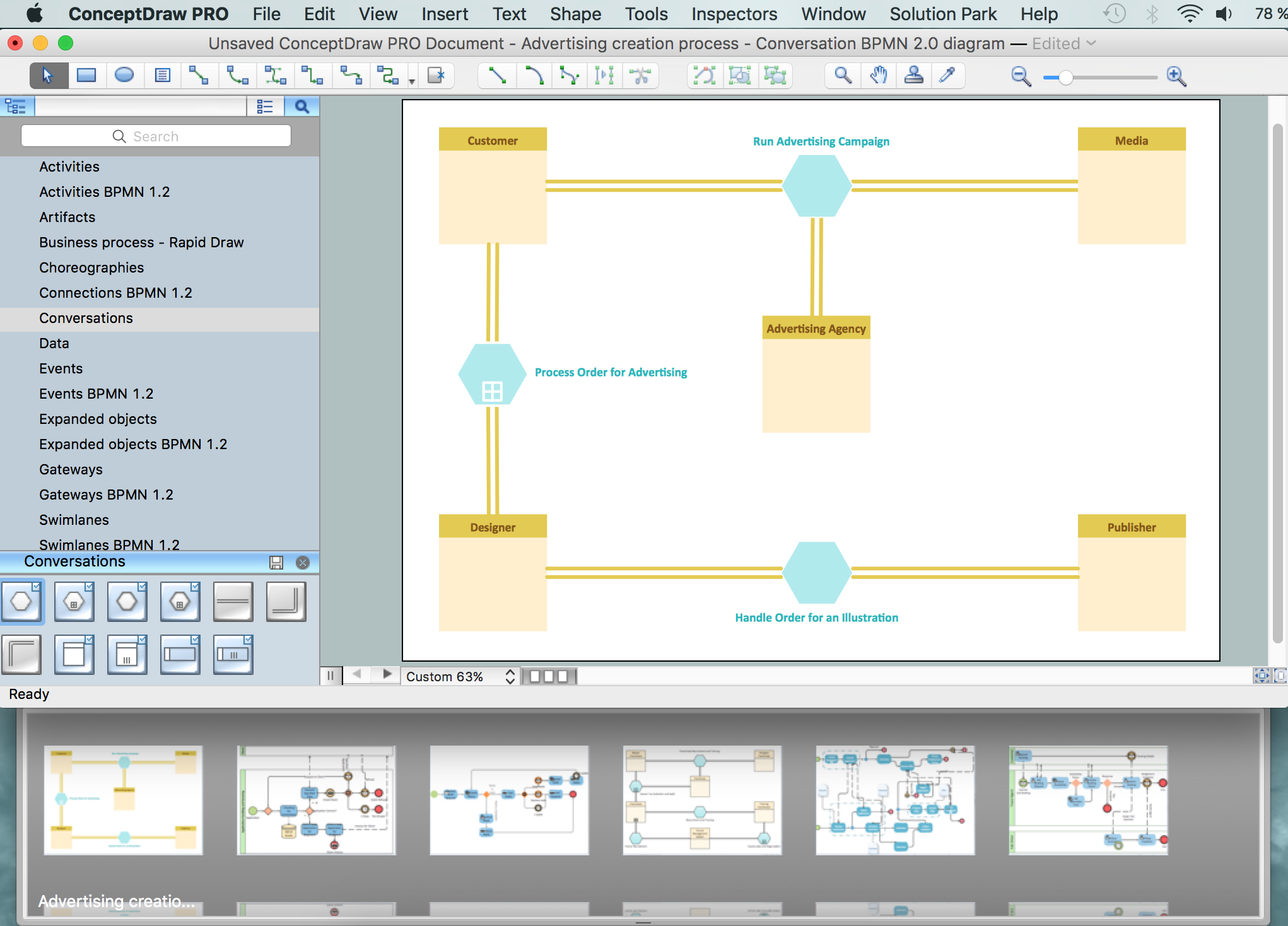 Business Process Modeling Software For Mac Features To