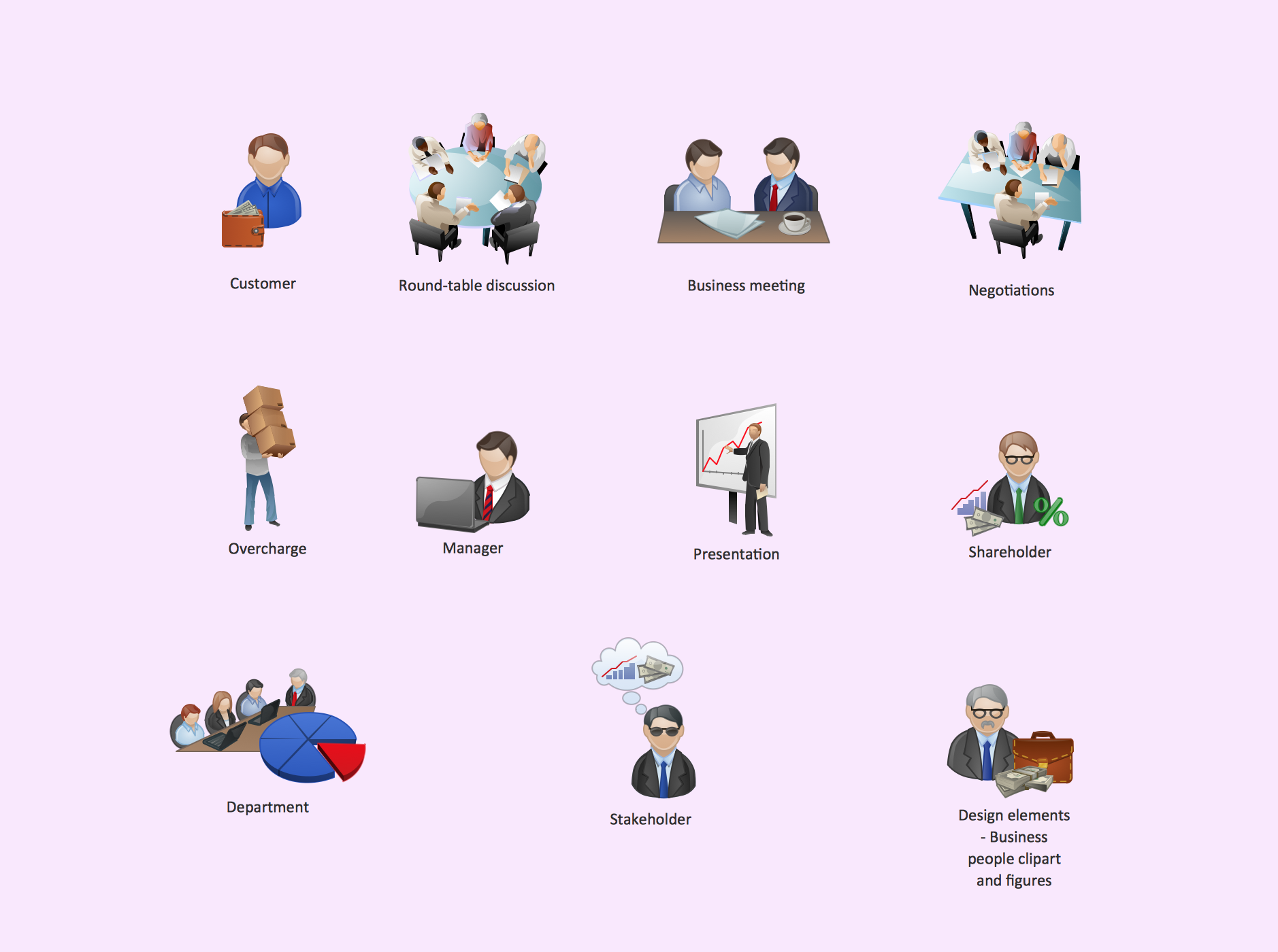 Business People Clipart *