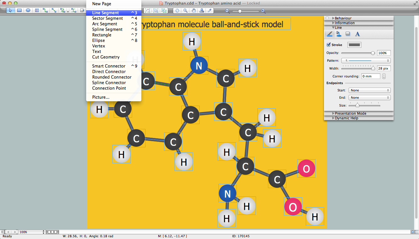 Chemistry Drawing Software *