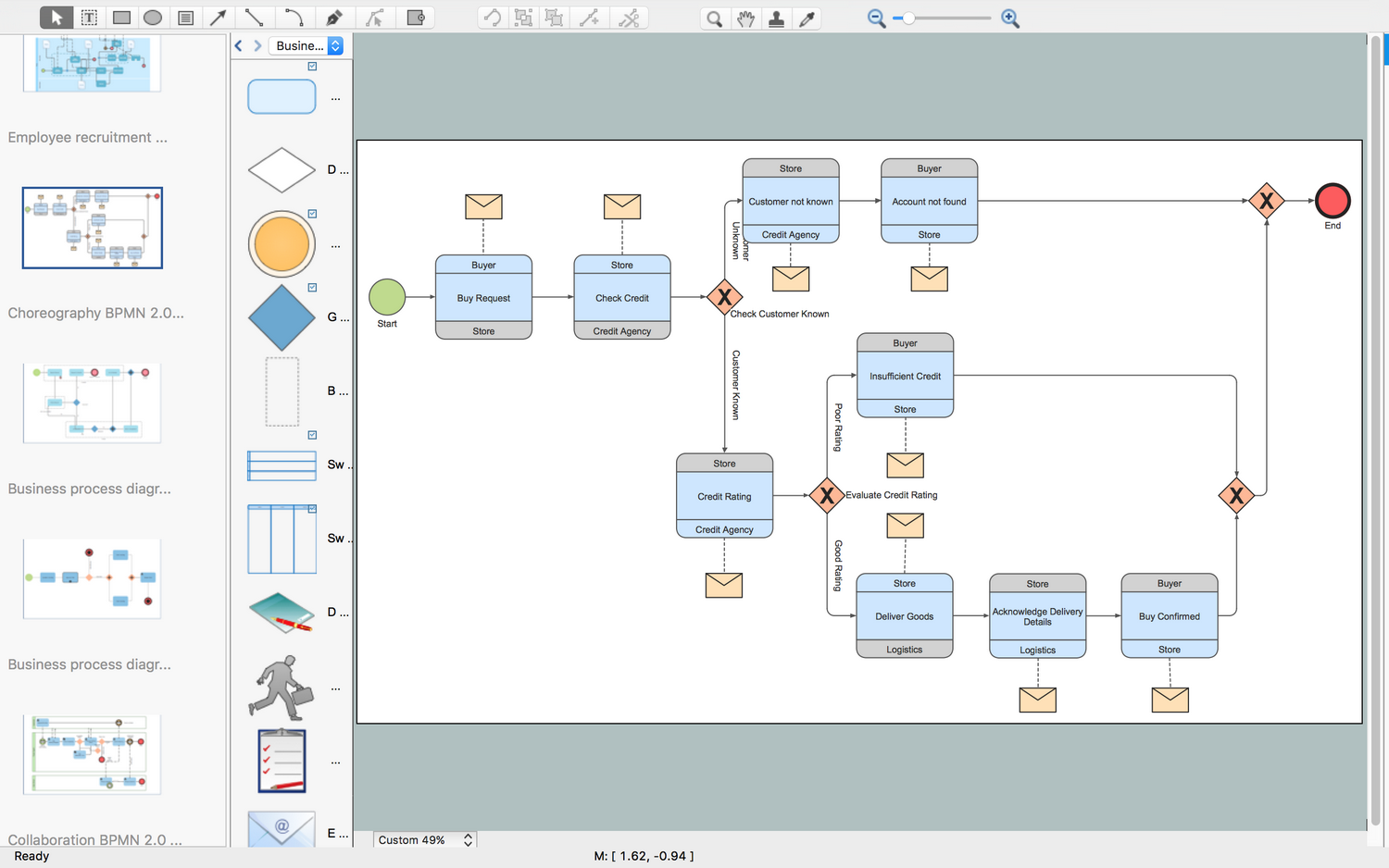 Business Process Modeling Software for Mac *