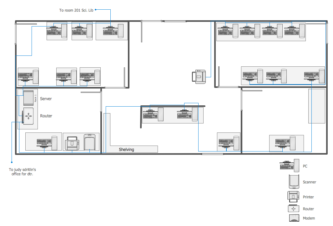 Network layout floor plans how to create a network for Floor plan layout