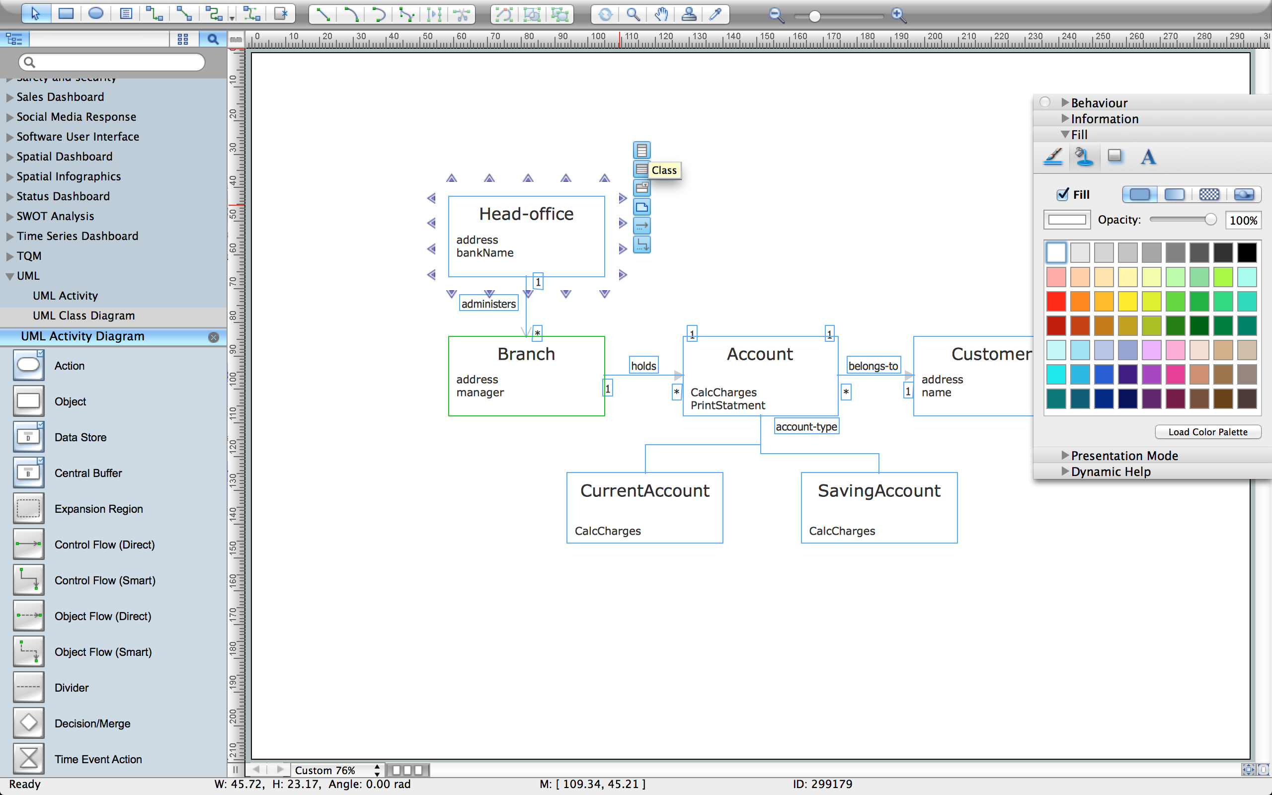 Create UML Diagram with ConceptDraw PRO