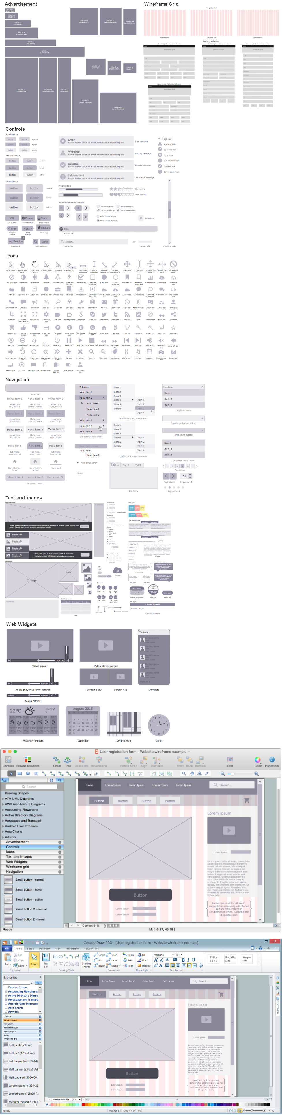 Wireframing *