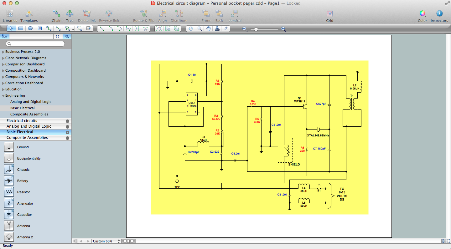 How to use house electrical plan software technical Home sketch software