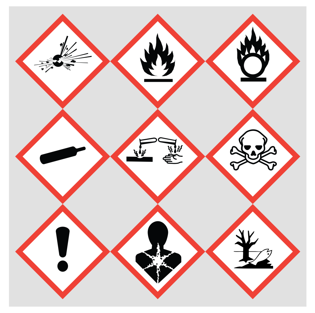 OSHA HAZCOM pictograms