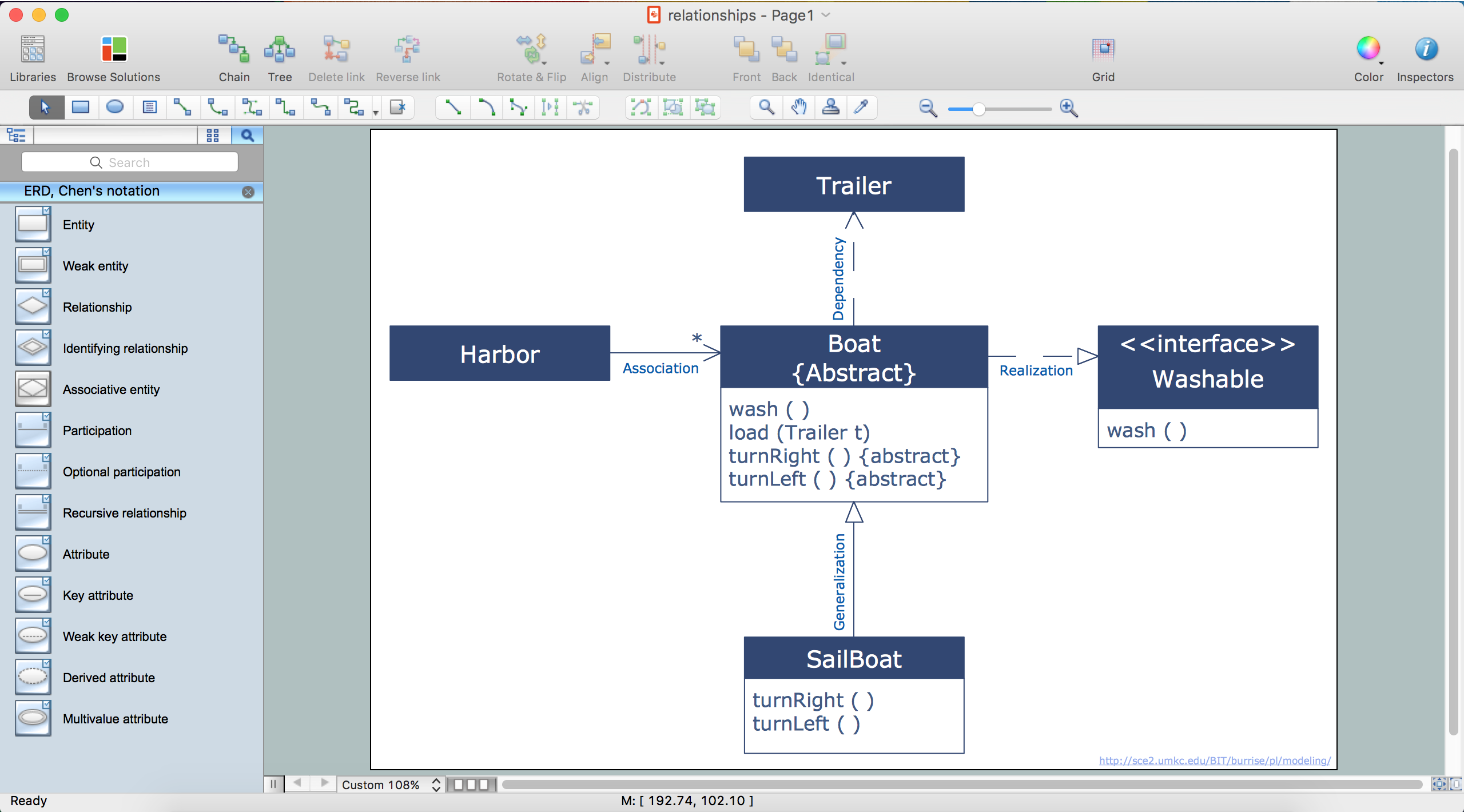 Entity-Relationship Diagram (ERD) with ConceptDraw PRO | Entity ...