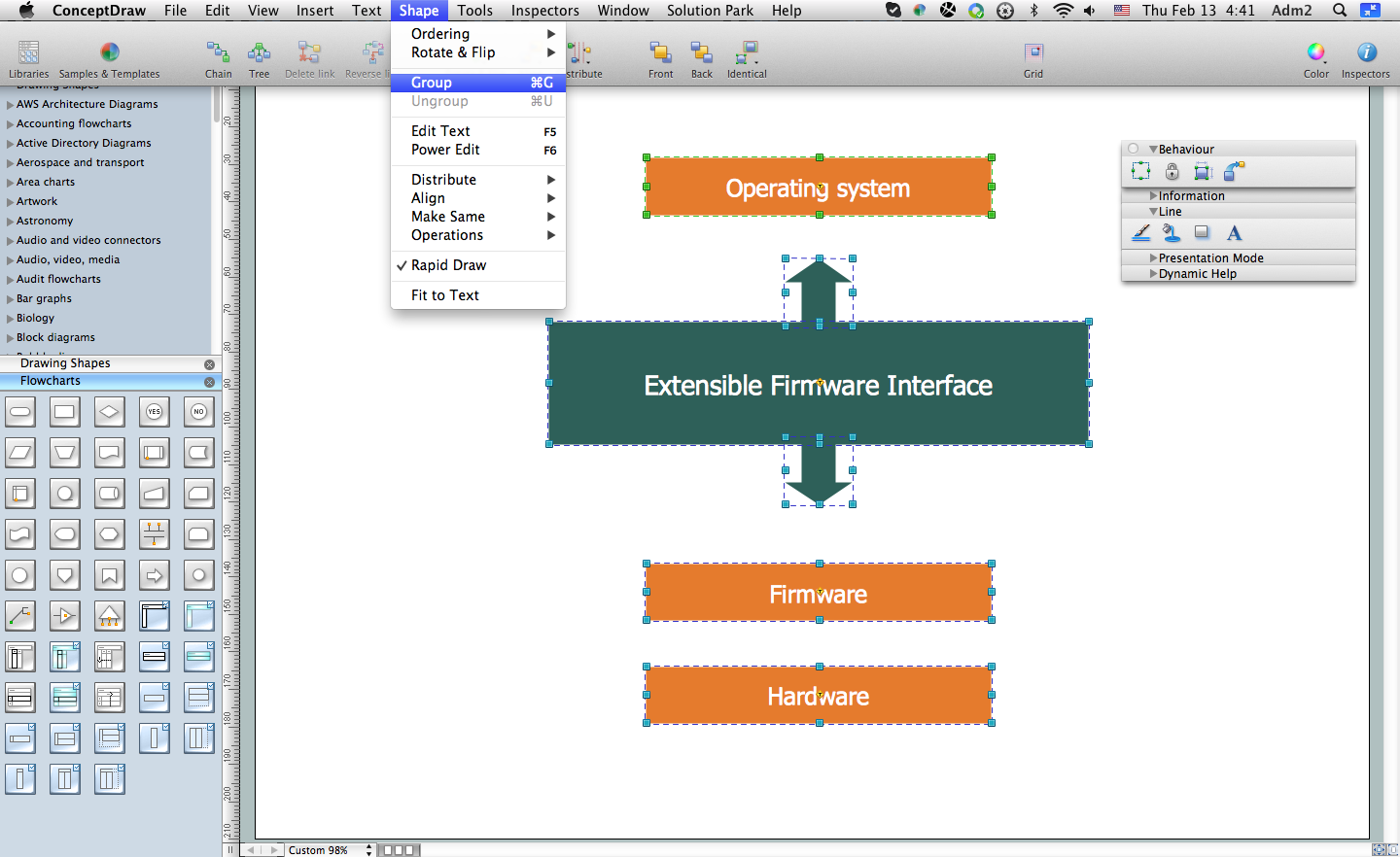 Flowchart Software. Free Flowchart Examples and Templates Download ...