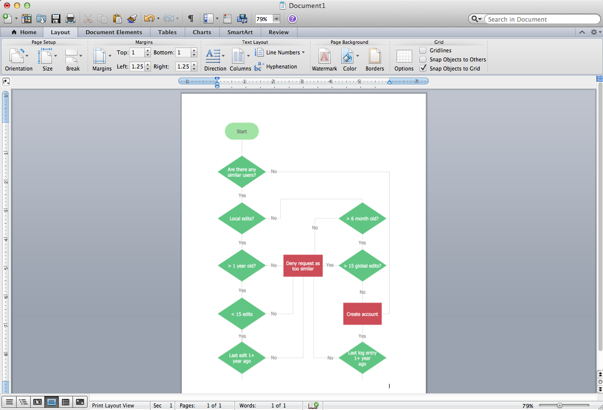 Make Flow Chart In Word Carnavalsmusic