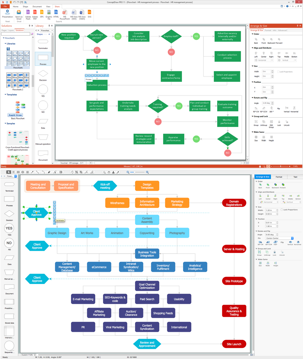 Flowcharting Software *
