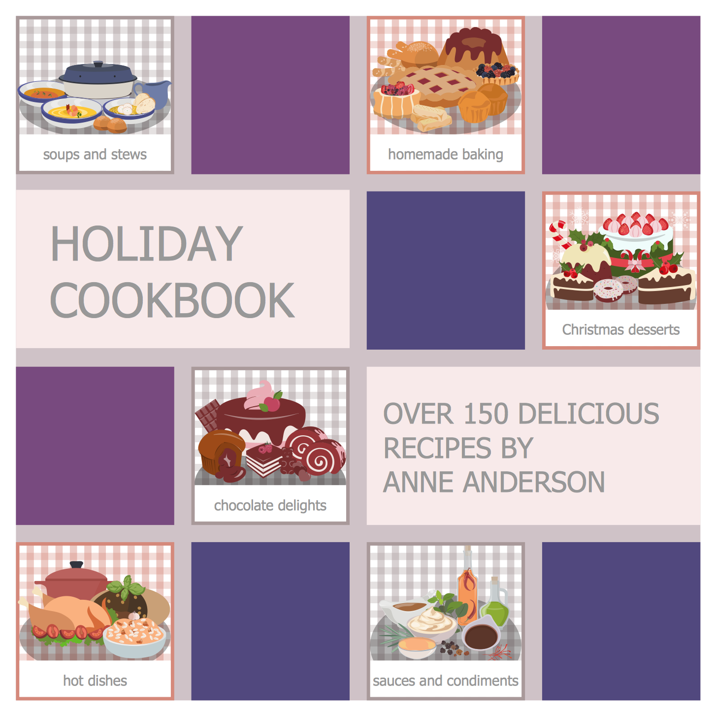 Holiday Recipes Cooking This Example Created With Conceptdraw Pro Diagramming And Vector
