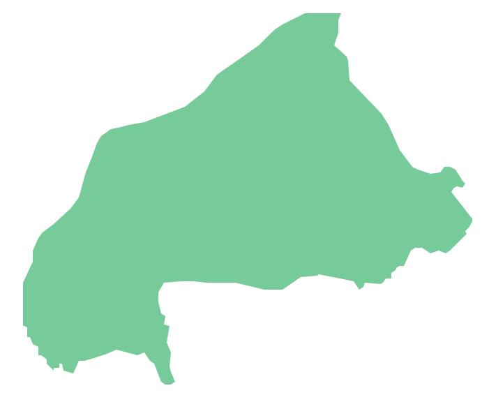Geo Map - Africa - Burkina Faso *
