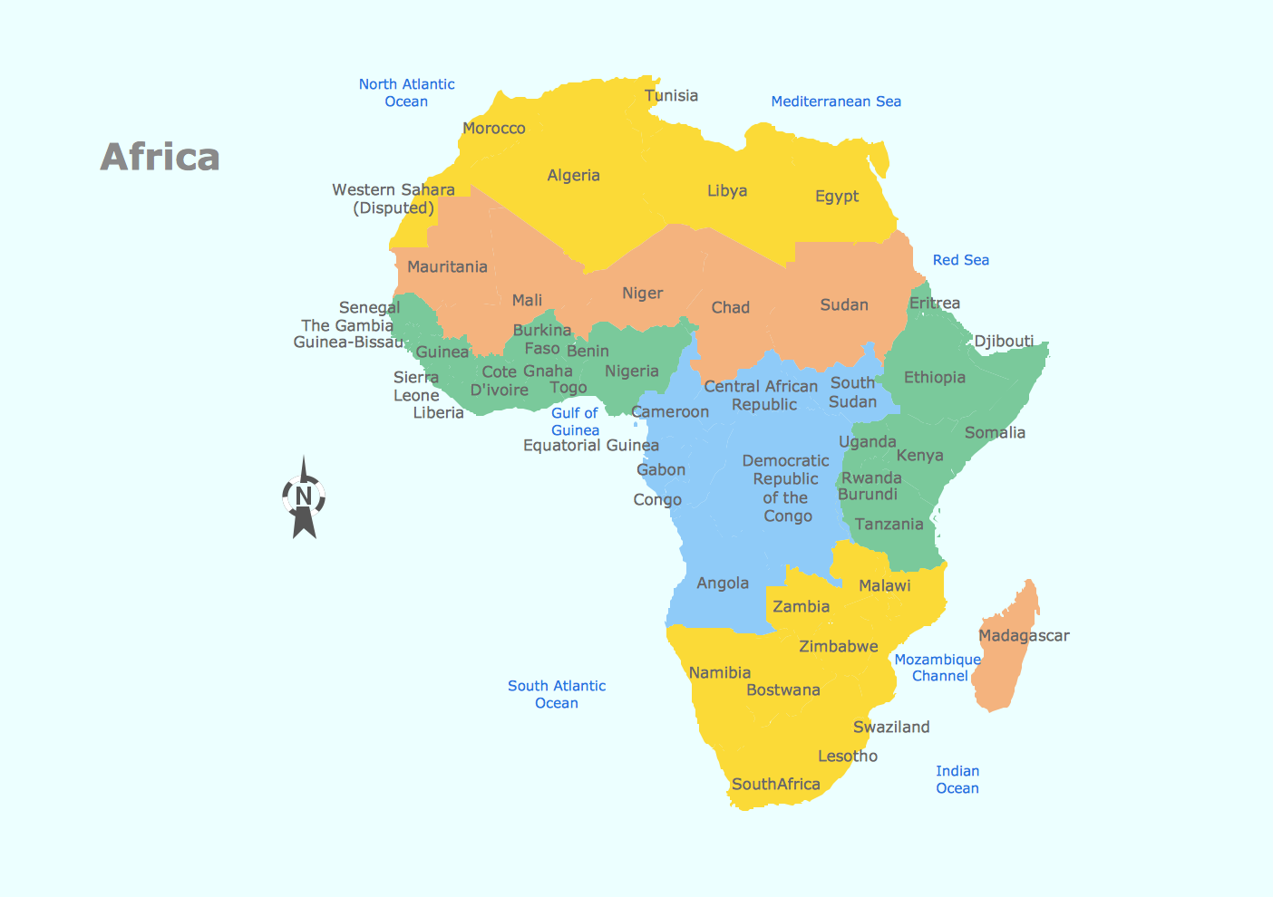 Picture of: Geo Map Africa Geo Map Africa Tanzania Geo Map Africa Chad Drawing Of A Map Of East Africa