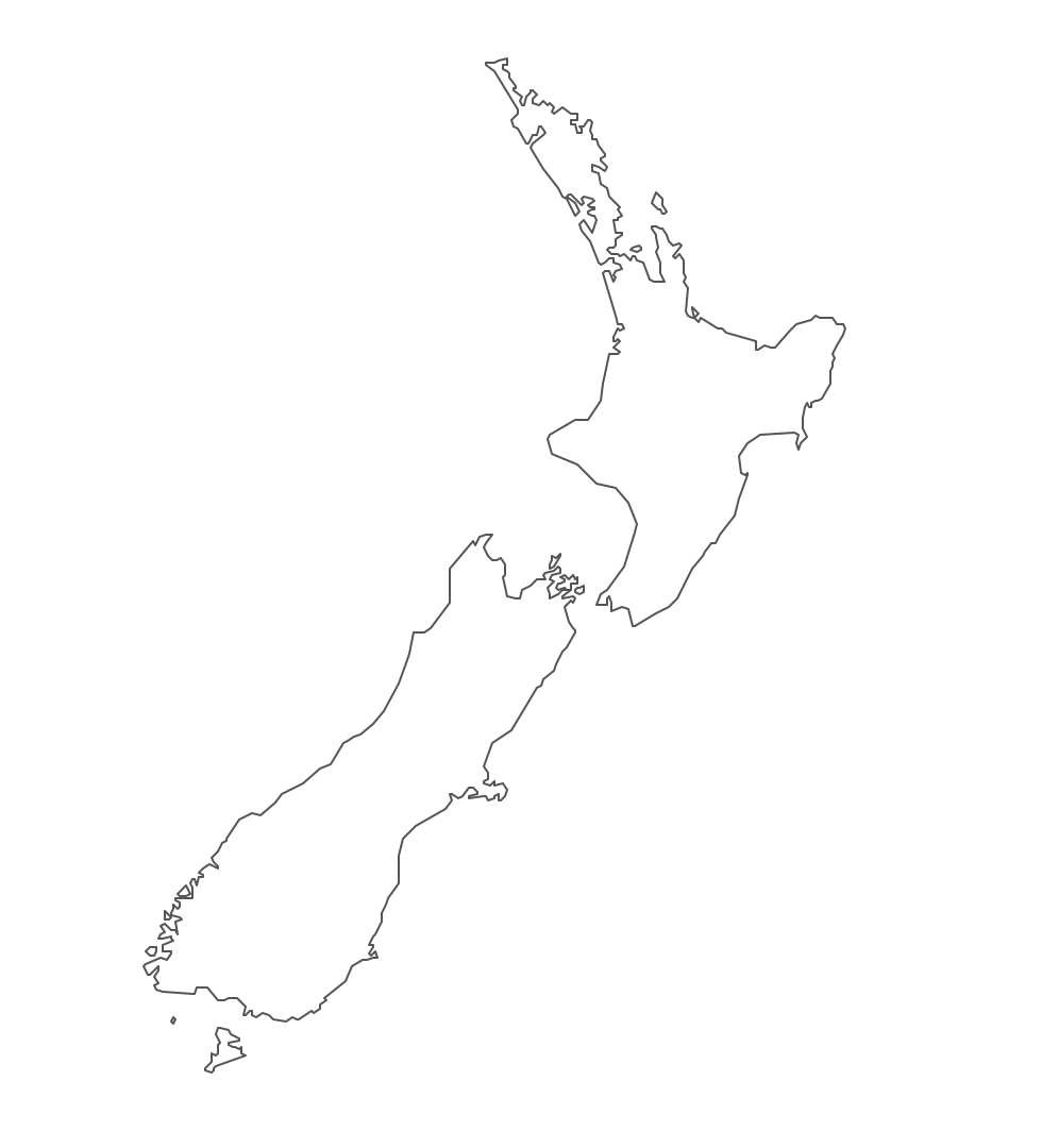 Geography Blog Outline Maps New Zealand - Map new zealand