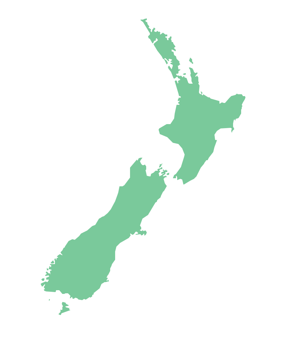 Map Australia New Zealand - Map of australia and new zeland