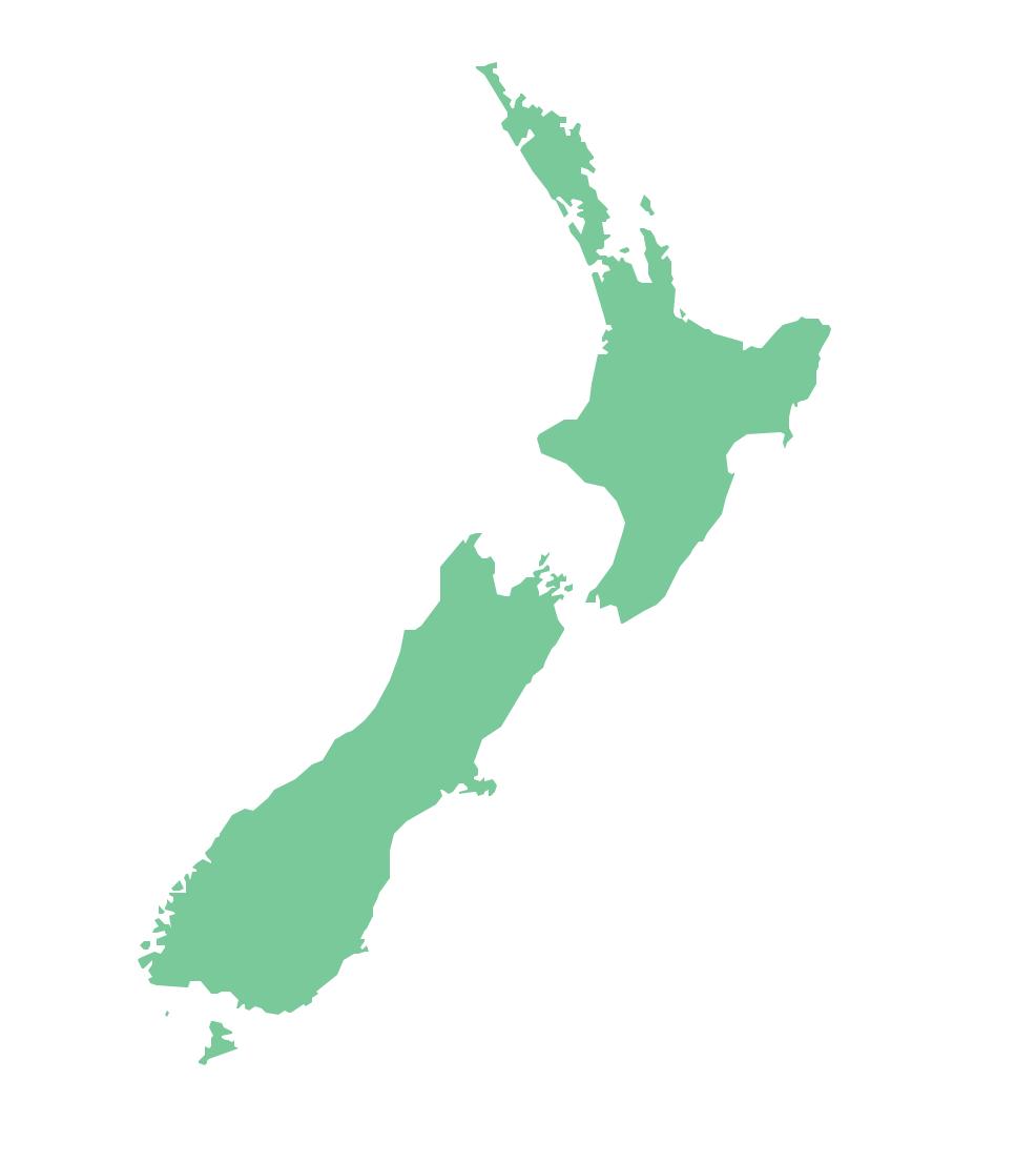 Geo Map - Australia - New Zealand