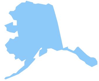 Geo Map - USA - Alaska
