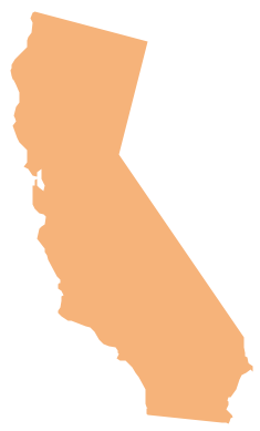 Geo Map - USA - California