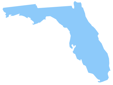 Geo Map - USA - Florida