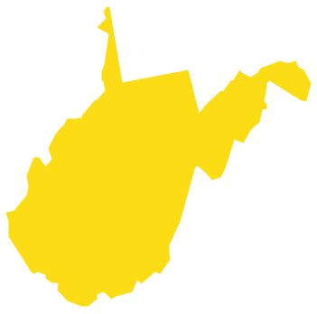 Geo Map - USA - West Virginia