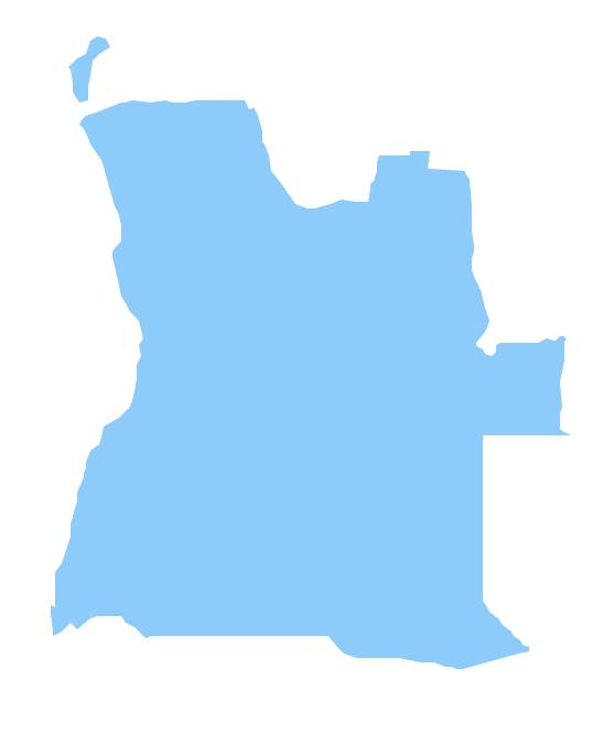 Geo Map - Africa - Angola