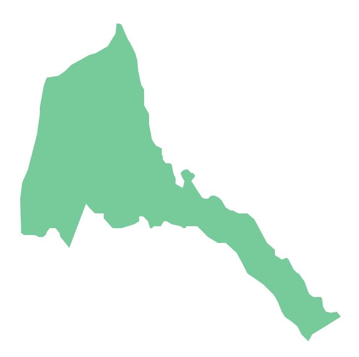 Geo Map - Africa - Eritrea