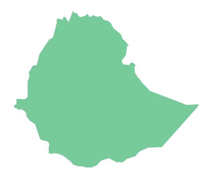 Geo Map - Africa - Ethiopia