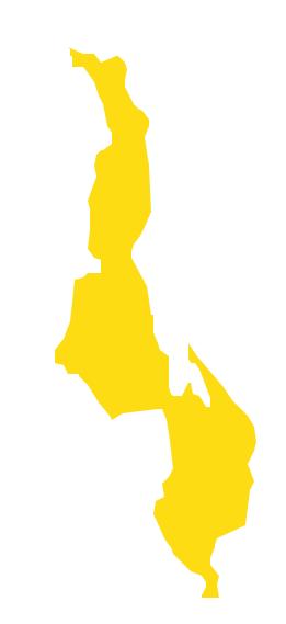 Map Africa Malawi - Malawi map png