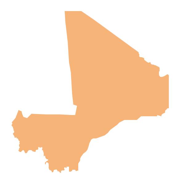 Geo Map - Africa - Mali