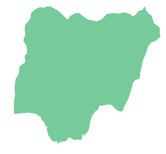 how to draw Nigerian map easily
