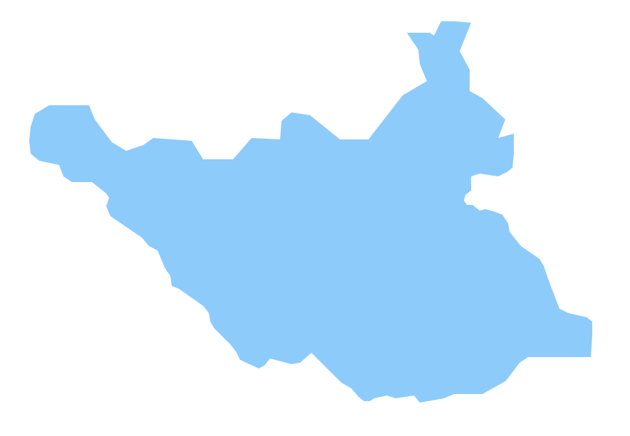 Geo Map - Africa - South Sudan