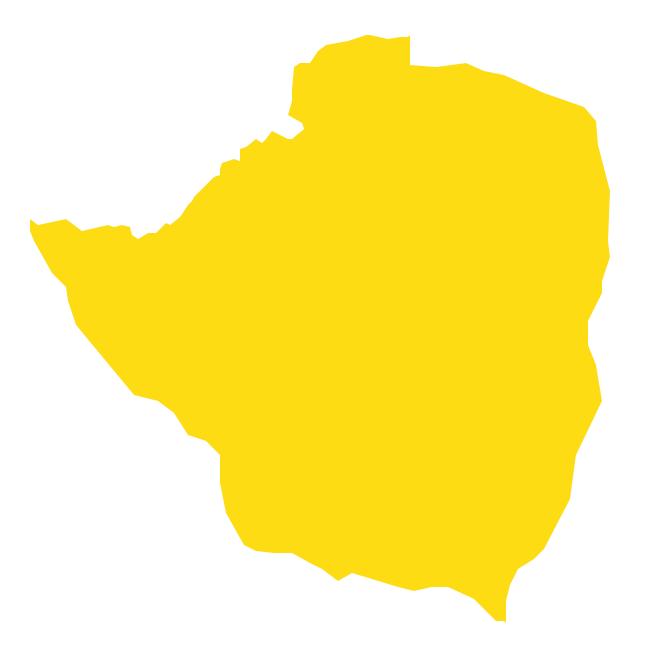 Geo Map - Africa - Zimbabwe