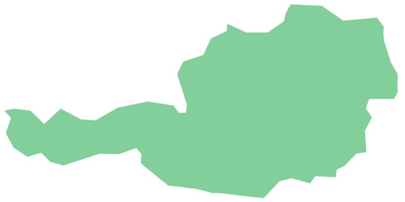 Geo Map - Europe - Austria