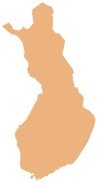 Geo Map - Europe - Finland