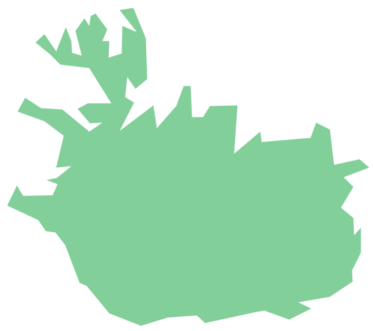 Geo Map - Europe - Iceland