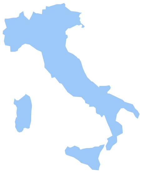Geo Map - Europe - Italy *