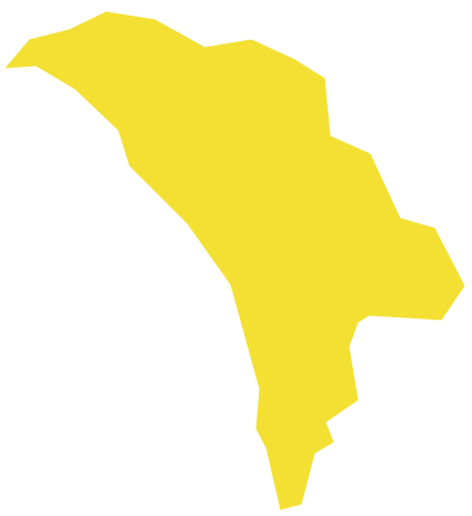 Geo Map Europe Moldova