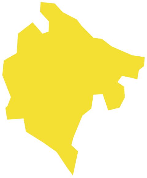 Geo Map - Europe - Montenegro