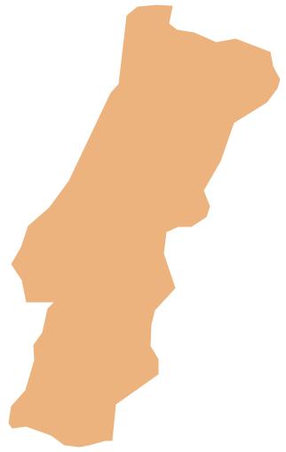Geo Map - Europe - Portugal *