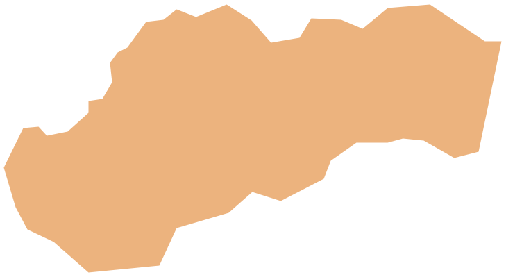 Geo Map - Europe - Slovakia *
