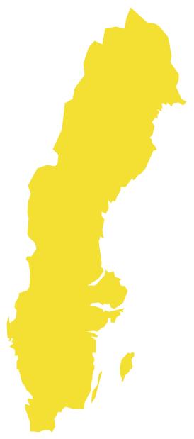 Geo Map - Europe - Sweden