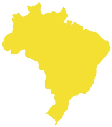 Geo Map - South America - Brazil