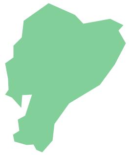 Geo Map - South America - Ecuador *