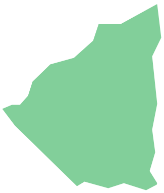 Geo Map - South America - Nicaragua