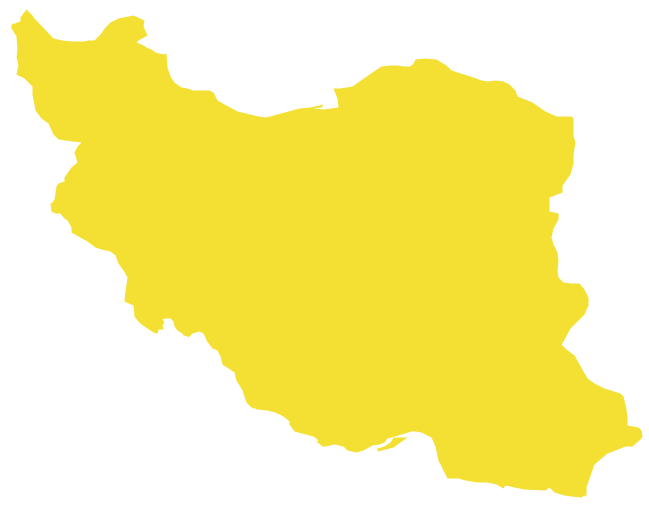 Geo Map Asia Iran
