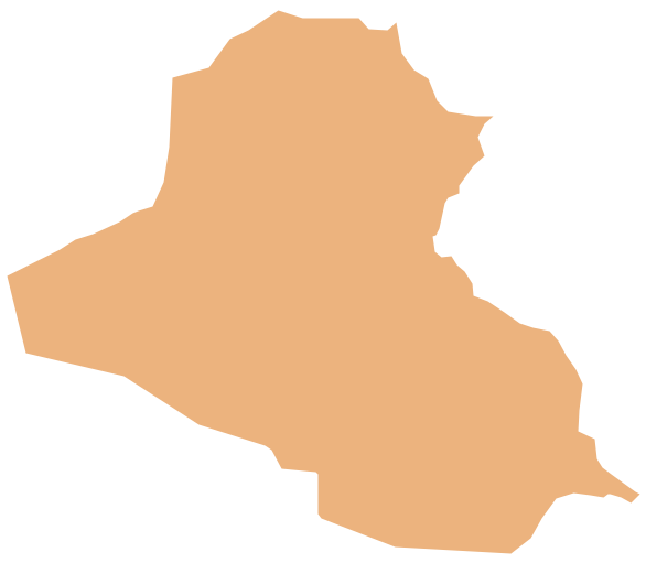 Geo Map - Asia - Iraq